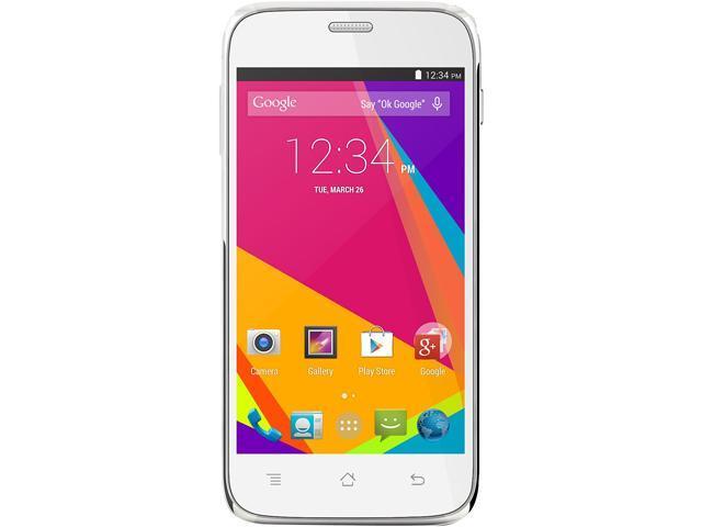 Blu Studio 5.0 HD LTE Y534Q White 3G 4G LTE Quad-Core 1.2GHz 8GB Unlocked GSM 4G Cell Phone
