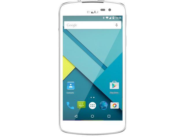 Blu Studio X D750u White 3G Quad-Core 1.3GHz Unlocked GSM HSPA+ Android Phone