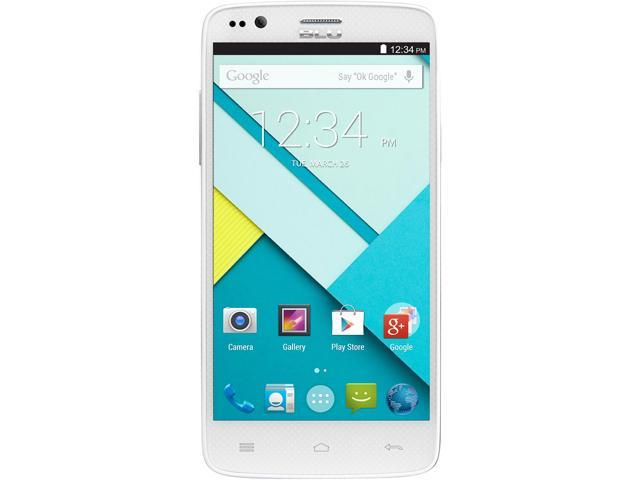 Blu Star 4.5 S451u White Quad-Core 1.3GHz Design Edition Unlocked GSM Cell Phone