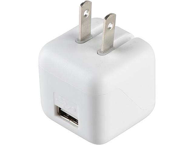 Insten 1830438 White USB Mini Travel Charger Adapter for Samsung Galaxy S5 SV