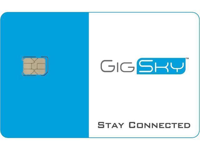 GigSky Global Nano SIM