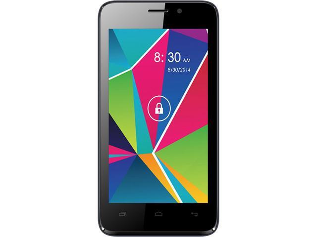 Unnecto Quattro X Gray Dual-Core 1.2GHz Unlocked Cell Phone