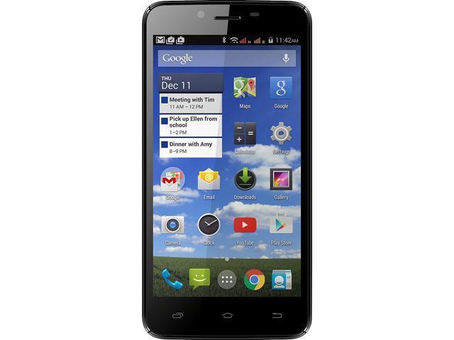 Unnecto Air 5.0 Black 3G Quad-Core 1.3GHz Unlocked Cell Phone