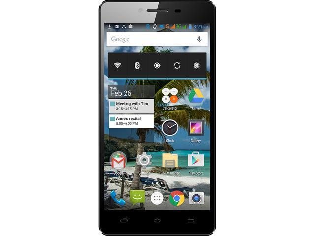 Unnecto Air 5.5 Black 3G Quad-Core 1.3GHz Unlocked Cell Phone