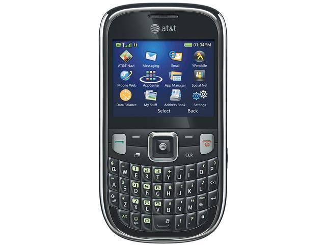 ZTE Z431 Black 3G Unlocked GSM QWERTY Cell Phone