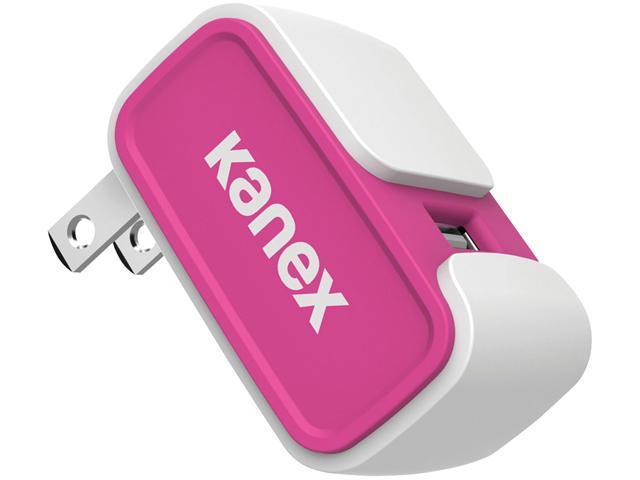 Kanex KWCU24V2PK Pink 2.4-Amp USB Wall Charger V2