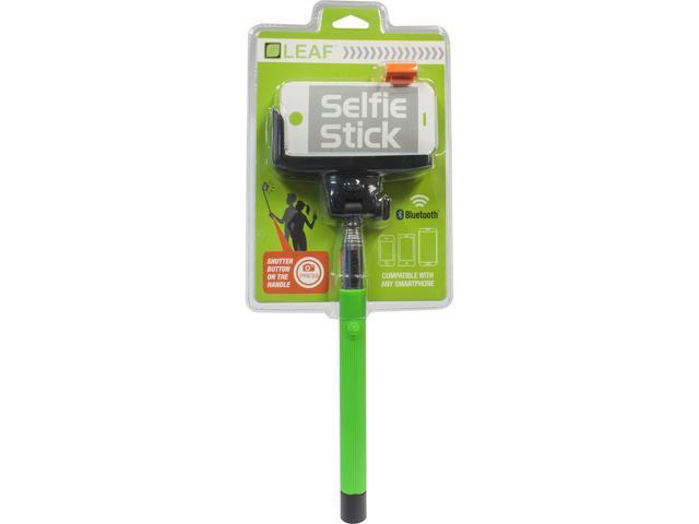 hyperkin M07110-GN Green LEAF Selfie Stick for Smartphones