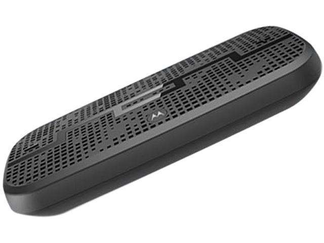 MOTOROLA DECK Gun Metal Wireless Bluetooth Speaker