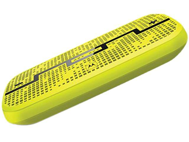 MOTOROLA DECK Lemon Lime wireless bluetooth speaker