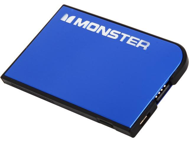 Monster PowerCard Cobalt Blue 1650 mAh Portable Battery 133334-00