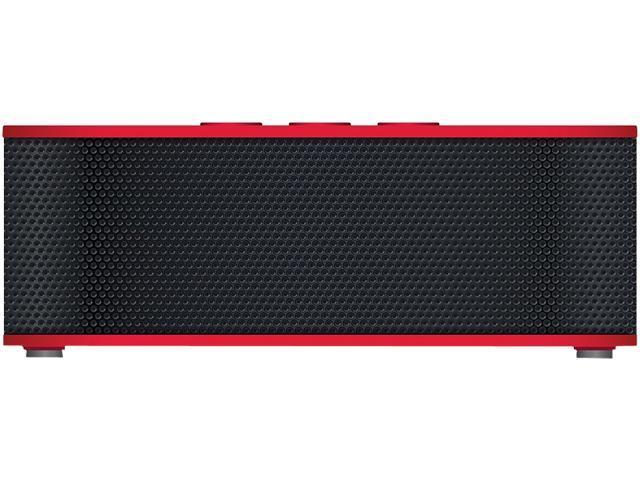 URGE Basics UG-SBPLUS-RED Red SOUNDBRICK PLUS Bluetooth & NFC Compatible Speaker