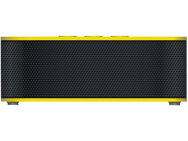 URGE Basics UG-SBPLUS-YLW Yellow SOUNDBRICK PLUS Bluetooth & NFC Compatible Speaker