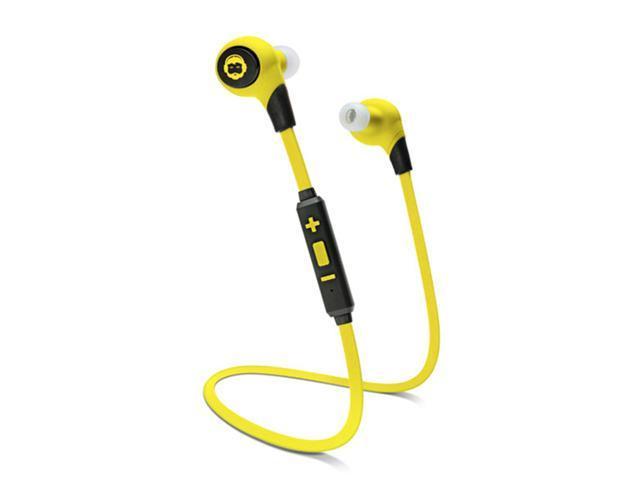 URGE Basics BKHC-25991-BYLW Yellow BK SPORT Bluetooth Headphones