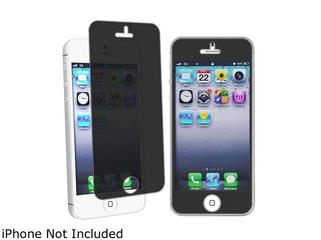 Insten Transparent Privacy Screen Filter for Apple iPhone 5 / 5C / 5S 1401144