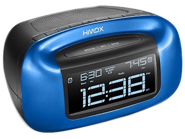 HMDX HX-B340BL Blue Chill Bluetooth Bluetooth Alarm Clock for Alarm Clock