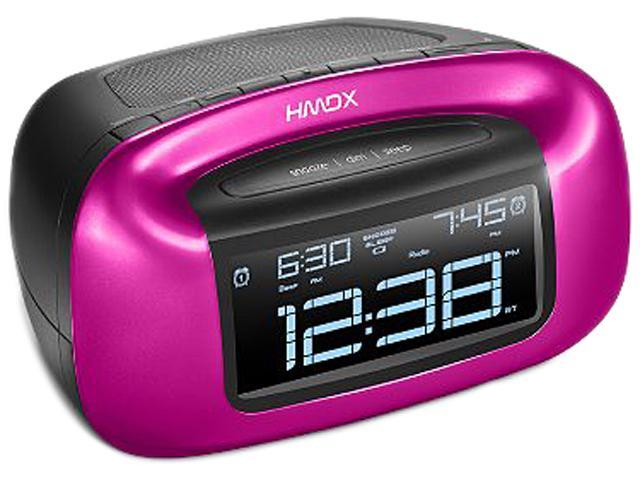 HMDX HX-B340PK Pink Chill Wireless Alarm Clock