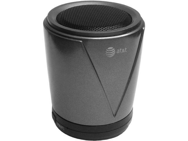 AT&T PWS01-Gray Gray Hot Joe Portable Bluetooth Speaker