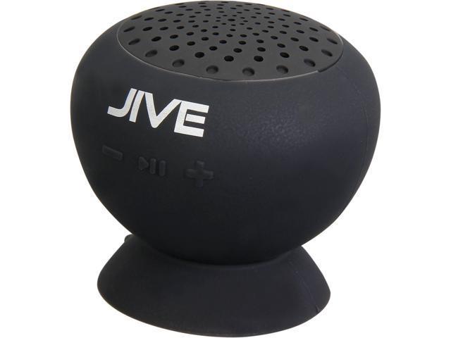 PC Treasures 9010 Black Lyrix JIVE Water Resistant Bluetooth Speakers