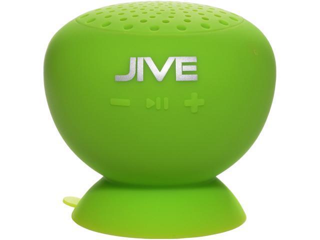 PC Treasures 9013 Lime Green Lyrix JIVE Water Resistant Bluetooth Speakers