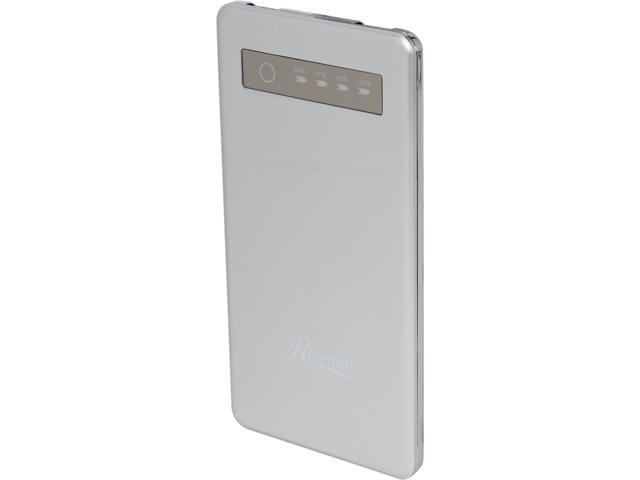 Rosewill Powerbank RCBR-13010-SL Silver 5000mAh External Backup Battery Charger for Smartphone/iPhone/iPod