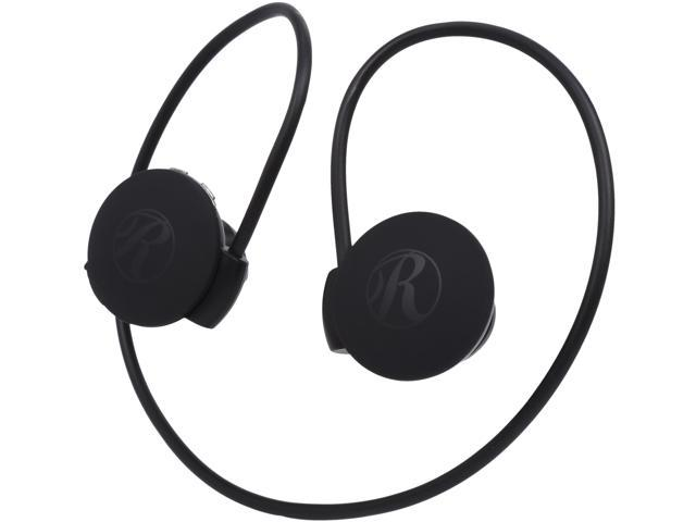 Rosewill R-Studio E-Motion Wireless Sport Headphones – Bluetooth, Black, Stereo, Wrap Around with Hands-Free Mic