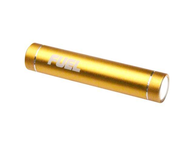 Patriot Memory FUEL Active Gold 2000 mAh Mobile Rechargeable Battery with LED Flashlight PCPA20001GL