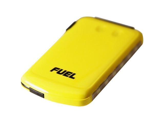 Patriot Memory FUEL Active Yellow 6000 mAh Mobile Rechargeable Battery with 3-stage LED flashlight PCPA60002SY