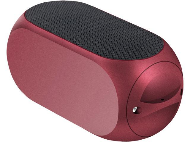 Matrix Audio MQUBE2RDA Red QUBE 2 Universal Rechargeable Stereo Bluetooth Speaker
