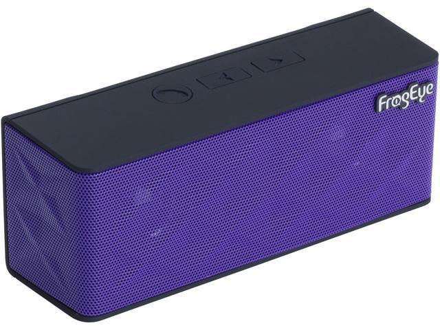 FrogEye HotBox S6 Purple Wireless Speaker Speakerphone