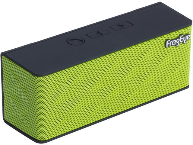 FrogEye HotBox S6 Green Wireless Speaker Speakerphone