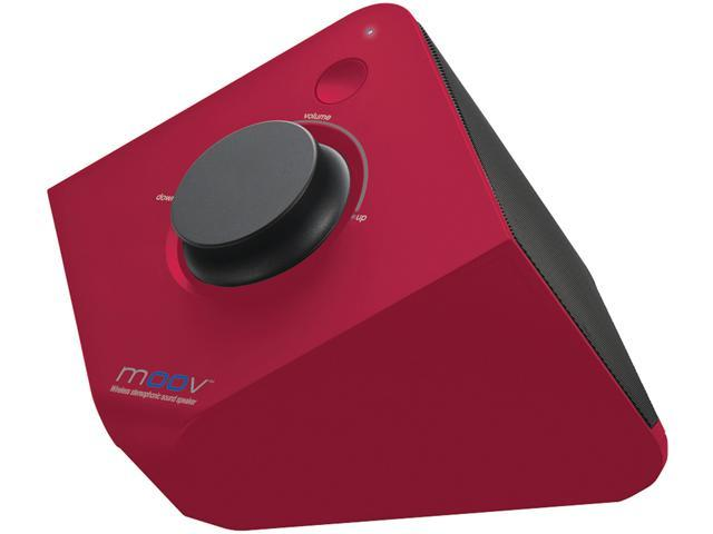 Uniden MOOV626R Red MOOV Series Bluetooth Wireless Speaker