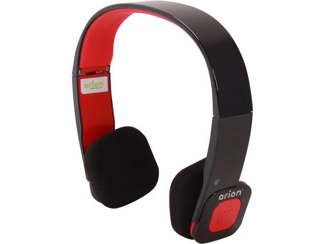 Eagle ET-ARHP200BF-BR Black/Red Foldable Bluetooth Stereo Headset