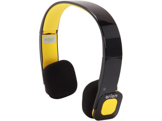 Eagle ET-ARHP200BF-BY Black/Yellow Foldable Bluetooth Stereo Headset