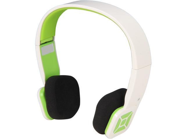 Eagle ET-ARHP200BF-WN White/Green Foldable Bluetooth Stereo Headset