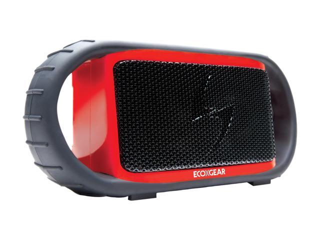 Ecoxgear GDIEGBT507 Red Bluetooth Waterproof Speakerphone