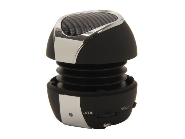 FiGo Black 3.5mm Mini Speaker Solar