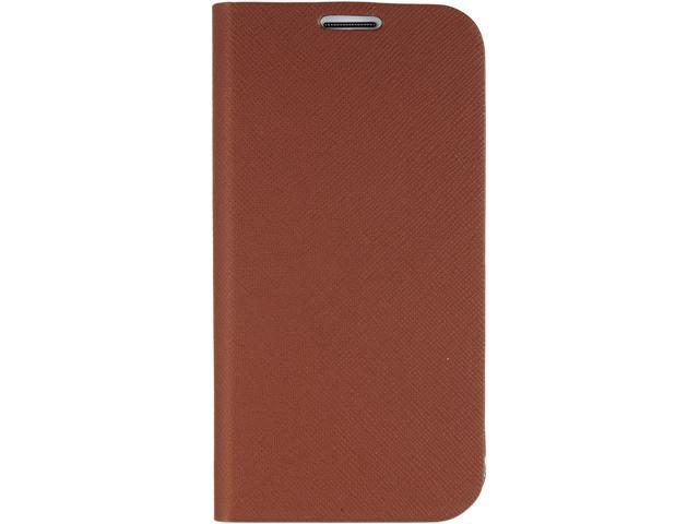 ANYMODE Brown Diary Case Saffiano For Samsung Galaxy S4 BRDC000NBR