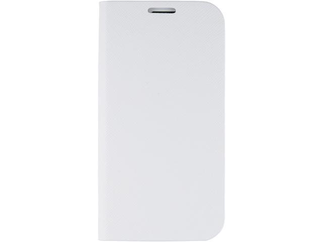ANYMODE White Diary Case Saffiano For Samsung Galaxy S4 BRDC000NWH