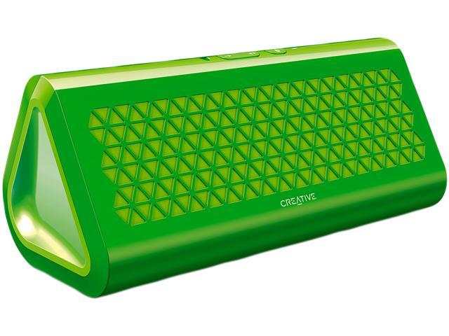 Creative 51MF8160AA007 Green Airwave Portable Bluetooth Wireless Speaker with NFC