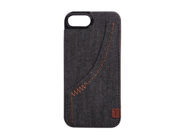 The Joy Factory Denim Smoke Premium Hardshell Case w/ Pocket for iPhone 5 CSD111