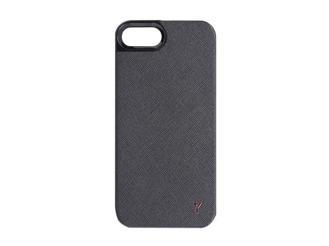 The Joy Factory Royce Black Premium Synthetic Leather Hardshell Case for iPhone 5 CSD113