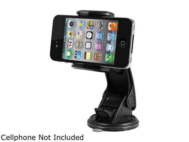 macally Black Suction Cup Mount For iPhone, iPod, Cell Phone, MP4, GPS MGRIP2