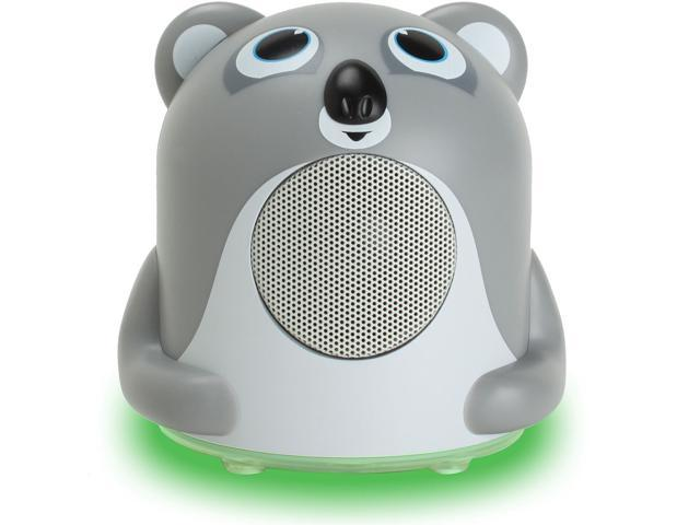 GOgroove Groove Pal Jr. Koala Portable Kids 3.5mm Animal Speaker with Glowing LED Base for iPhone 5, 4S / iPod Touch, Nano / Samsung Galaxy ...