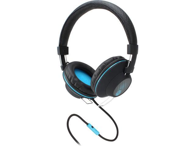GOgroove AudioLUX OE Stereo Headphones with Noise Isolating Over-Ear Design , Enhanced Bass & Handsfree Microphone