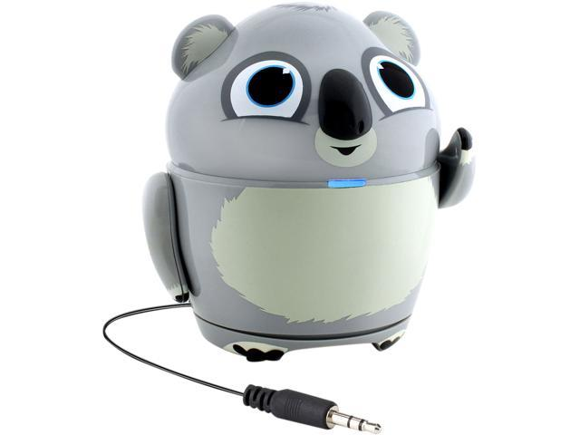 GOgroove Groove Pal Koala Kid-Friendly Animal Speaker with Rechargeable Battery & Portable Design