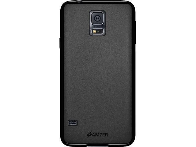 Amzer Pudding TPU Case - Black for Samsung Galaxy S5 SM-G900
