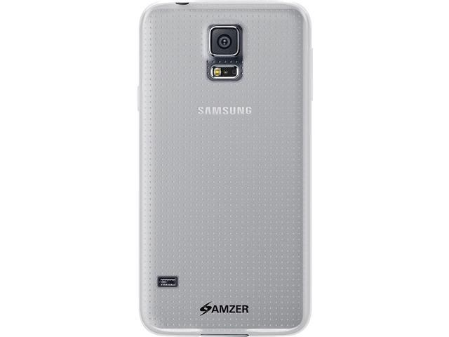 Amzer Pudding TPU Case - Clear for Samsung Galaxy S5 SM-G900