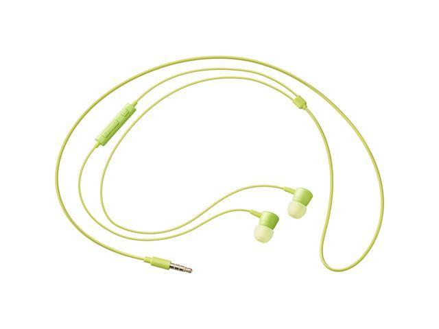 SAMSUNG HS130 Green Wired Headset w/ Inline MicEO-HS1303GEST1