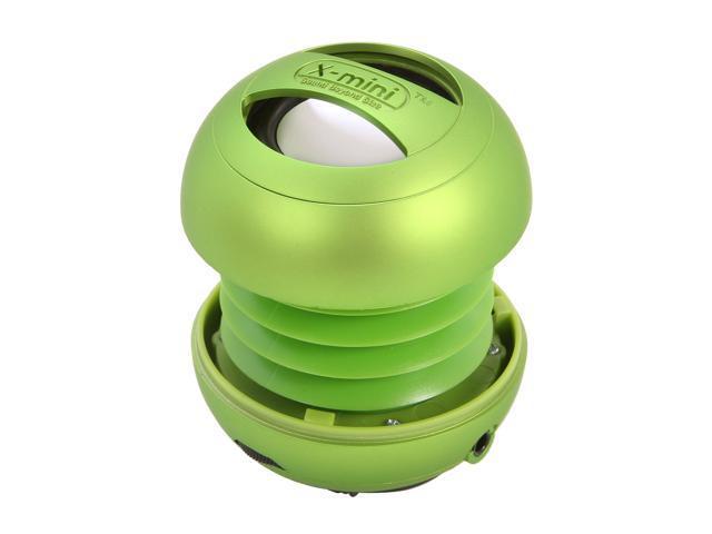 XMI Green 3.5mm Capsule Speaker X-Mini II