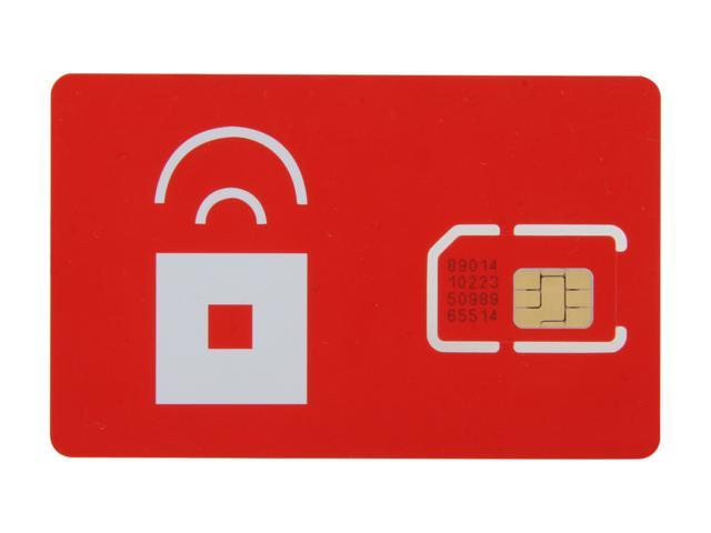 Red Pocket Mobile UNLIMITED SIM Card